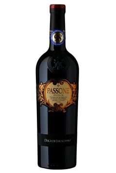 Rượu vang đỏ Ý Passone Puglia Duca di Saragnano