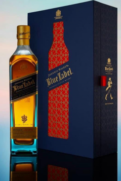 Rượu Johnnie Walker Blue Hộp Tết 2021