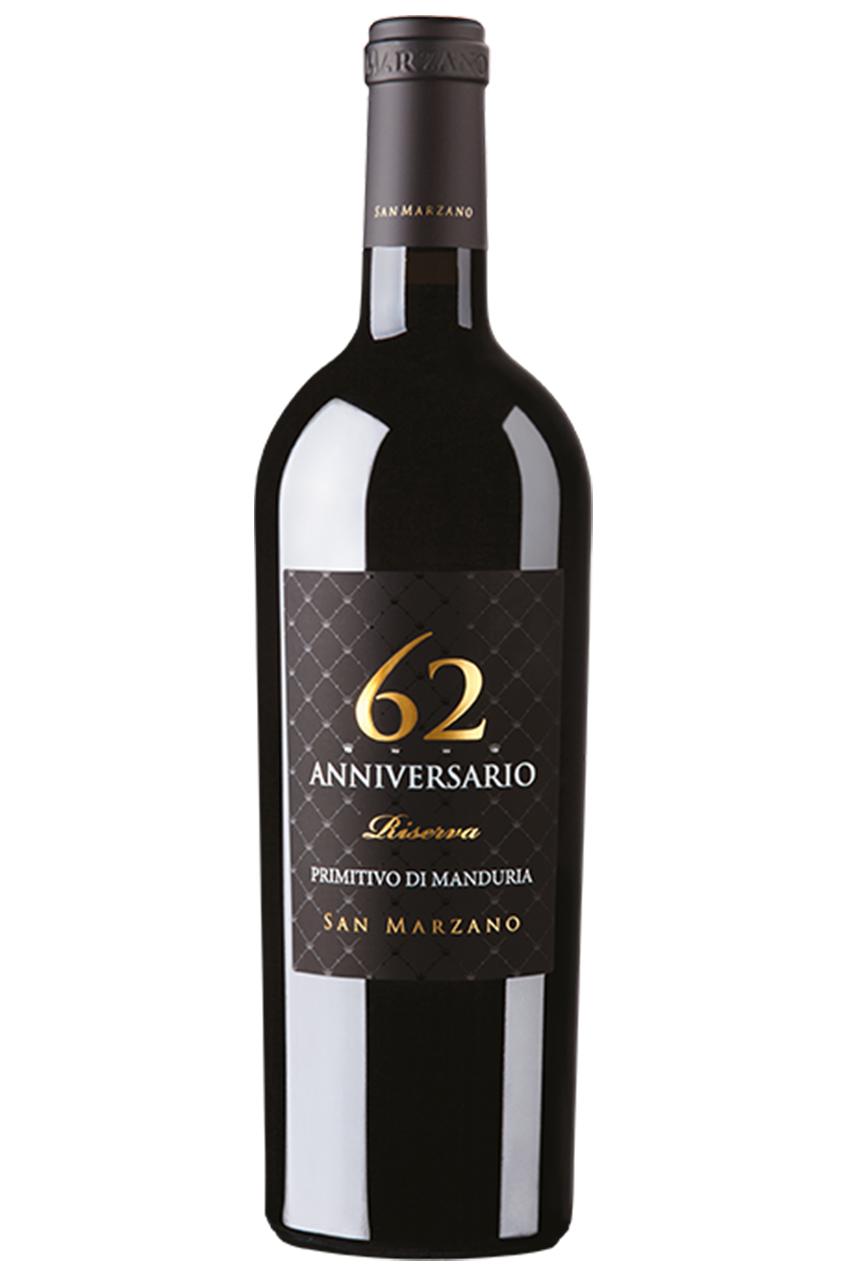 Rượu vang 62 Anniversario Primitivo di Manduria D.O.P. Riserva