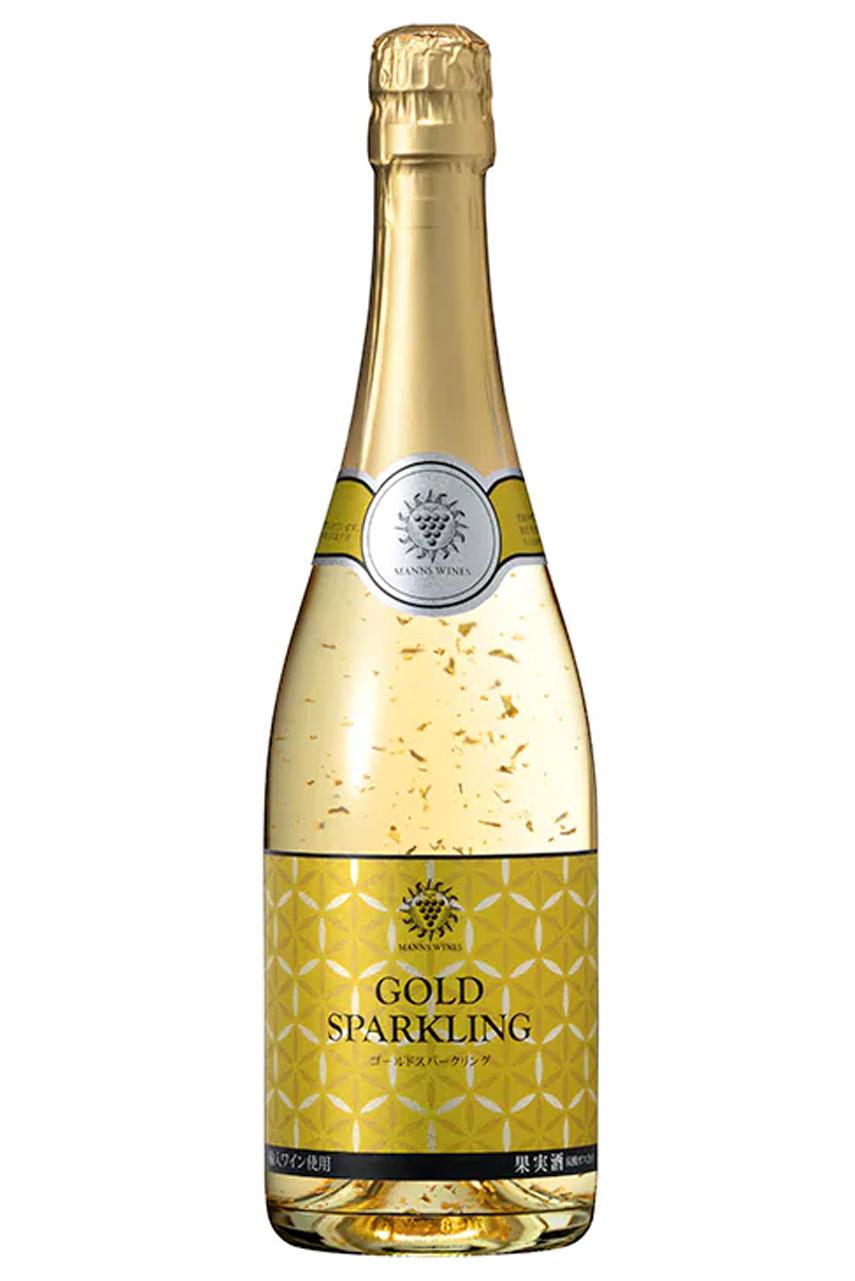 Rượu vang nổ vảy vàng Gold Sparkling Kikkoman Nhật Bản